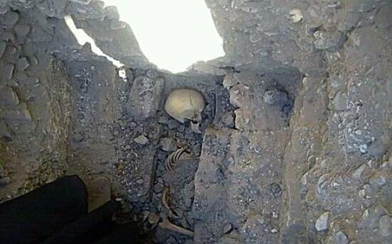 کشف اسکلت دختربچه ای 5000 ساله در بابل