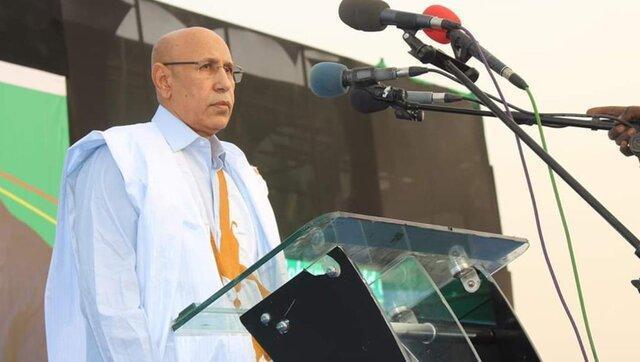 محمد ولد الغزوانی رئیس جمهوری موریتانی شد