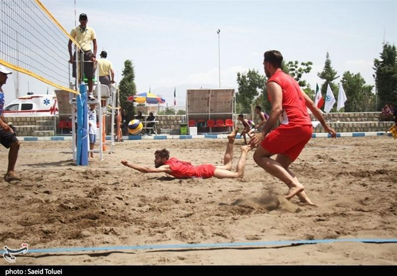 تغییر برنامه دیدارهای والیبالیست های ساحلی ایران در هامبورگ