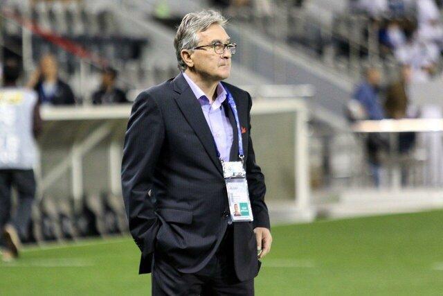 واکنش برانکو به حذف از لیگ قهرمانان آسیا