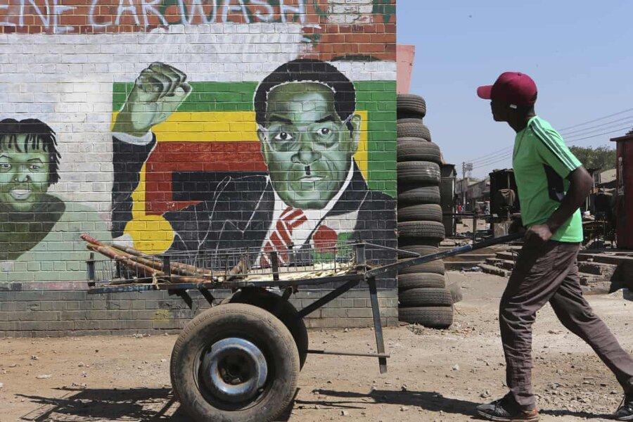 عکس روز: نقاشی دیواری دیکتاتور