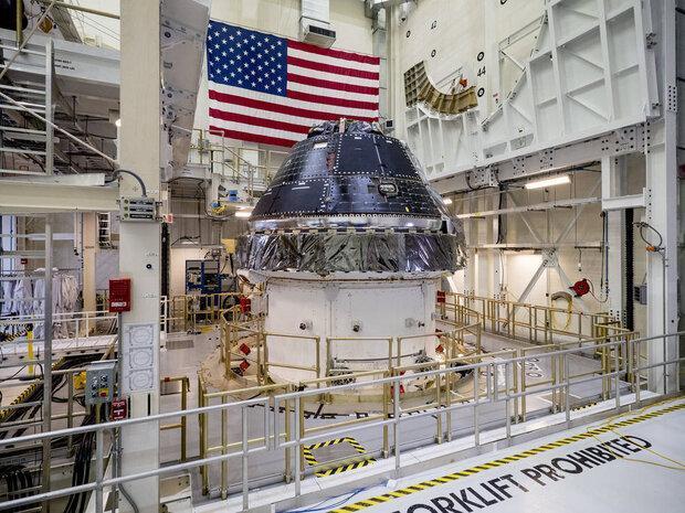 ناسا فضاپیمای اوریون سفارش داد