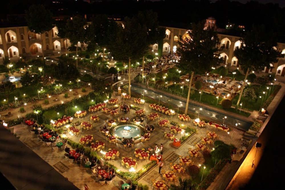 هتل شاه عباسی اصفهان، زیباترین هتل خاورمیانه در سال 2017 Isfahan