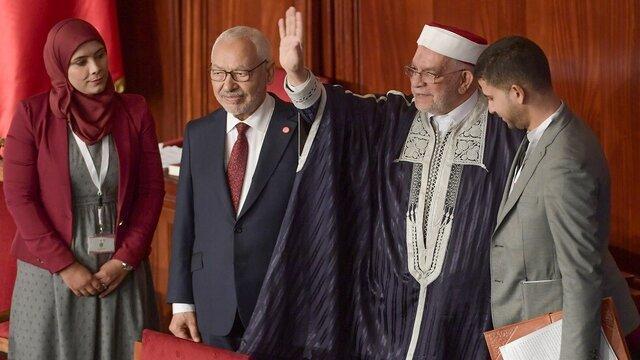 راشد الغنوشی به عنوان رئیس مجلس تونس انتخاب شد