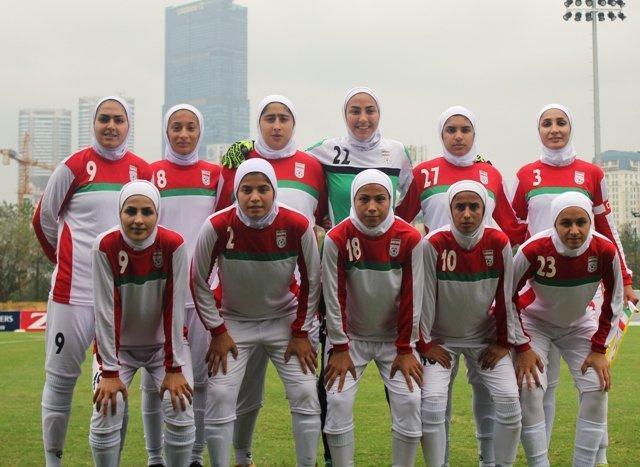کار سخت بانوان فوتبالیست ایران برای صعود از مرحله مقدماتی قهرمانی آسیا
