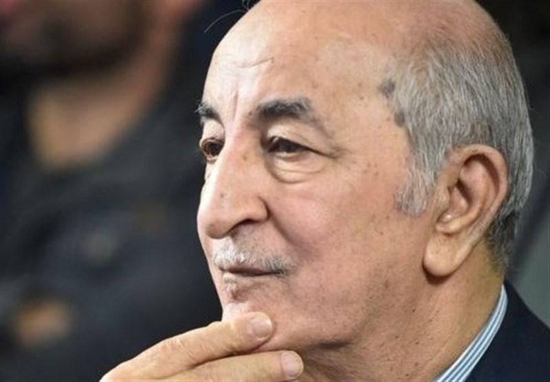 الجزایر، آغاز ماموریت تبون پس از مراسم تحلیف