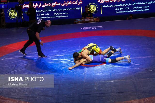 جام قهرمانی کشتی آزاد باشگاه های دنیا در ایران ماند
