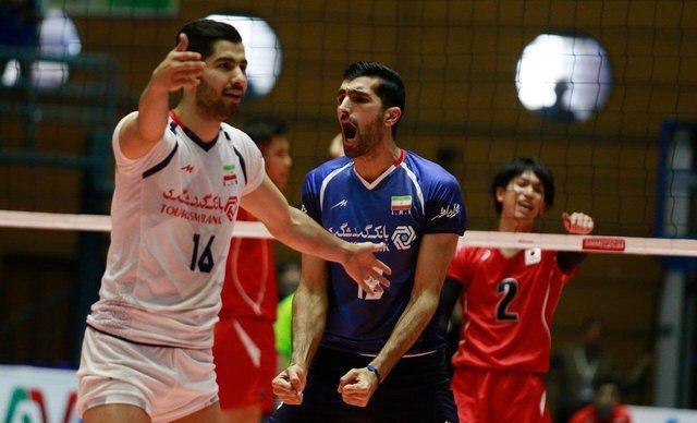 دیدار محبت آمیز تیم ملی والیبال امید ایران با شاگردان لوزانو
