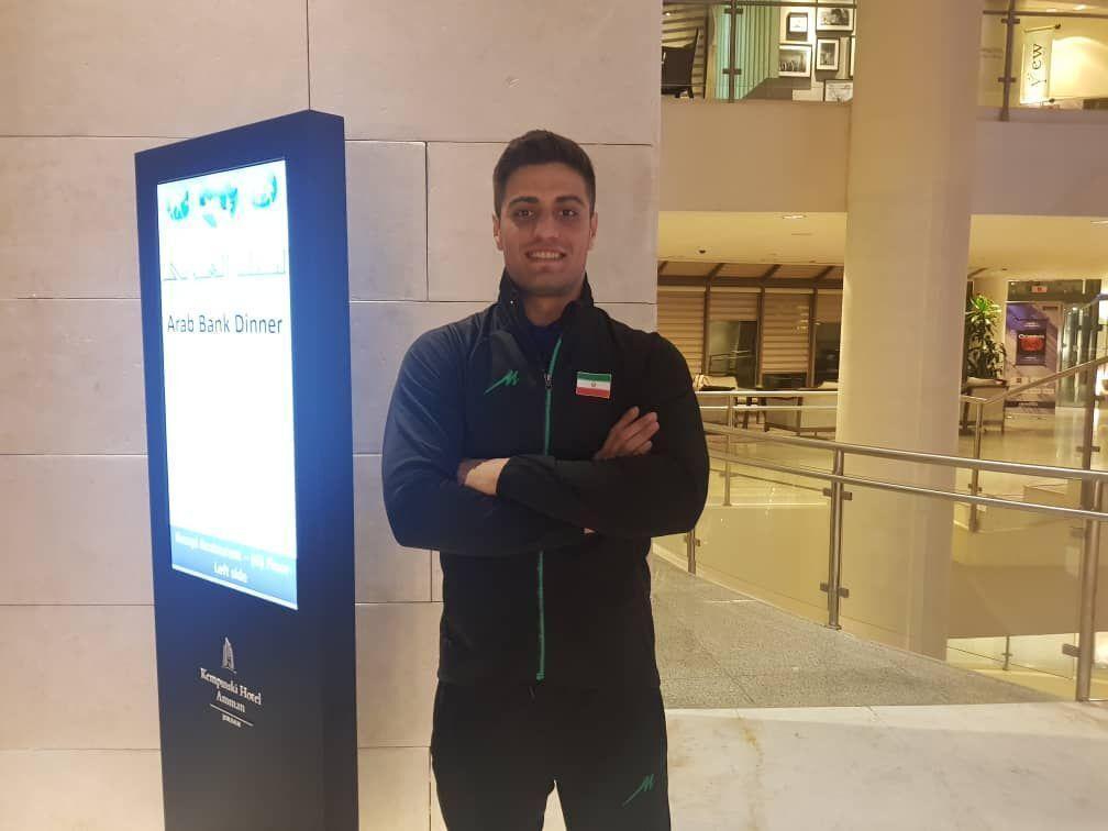 خبرنگاران بوکسور زنجانی دیدار نخست مسابقات گزینشی المپیک را طوفانی شروع کرد