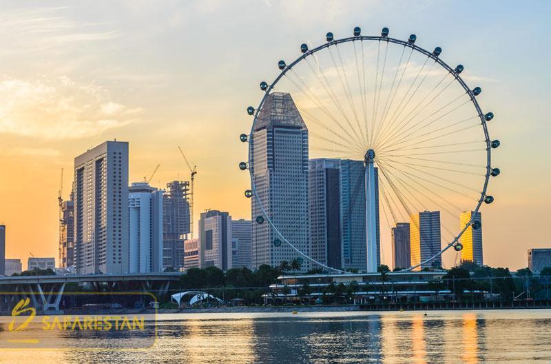 بلیط هواپیما به سنگاپور