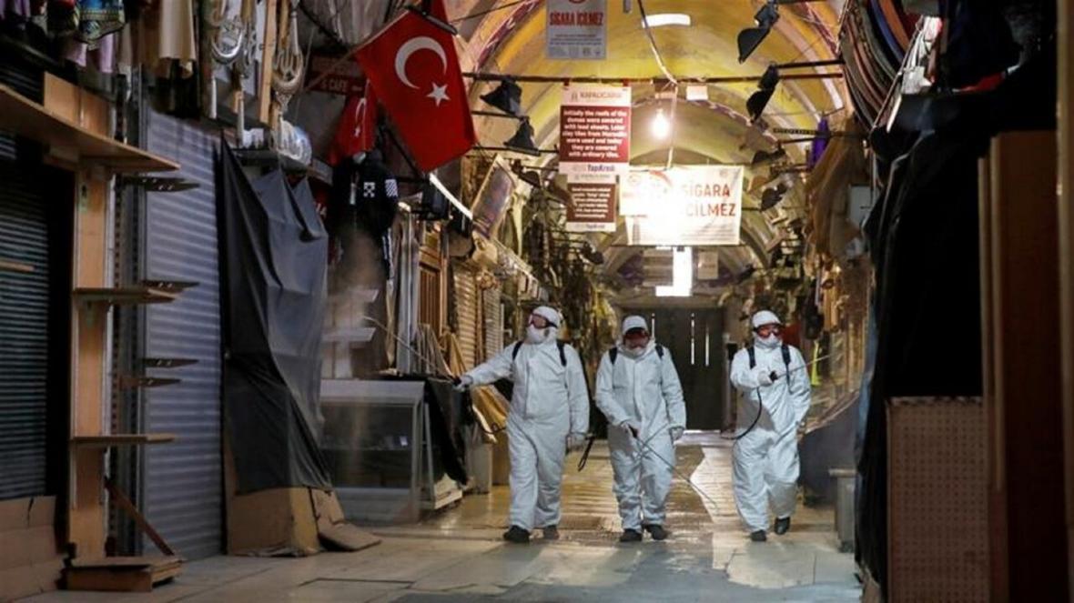 خبرنگاران ترکیه برای مقابله با کرونا 48 ساعت منع آمد و شد اظهار داشت